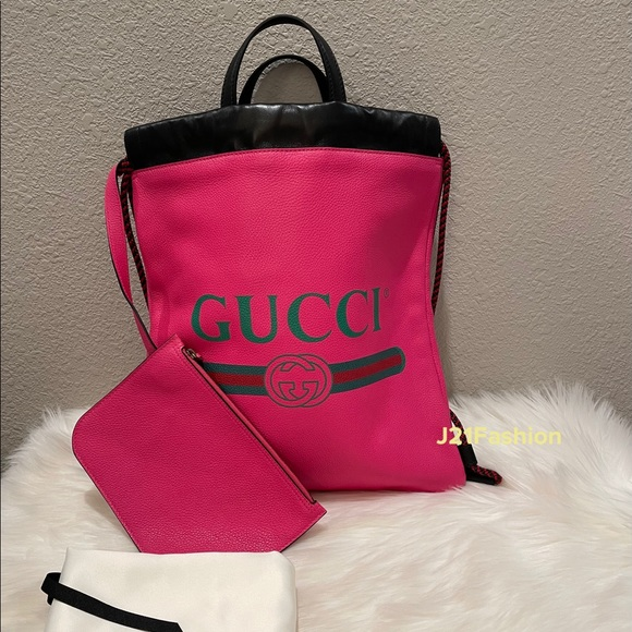 NEW Authentic Gucci Drawstring Backpack🌸